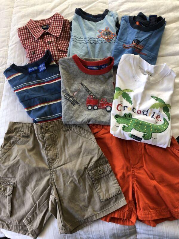 New Boys Oshkosh Lot Of Clothing Size 24m 8 Piece Lot