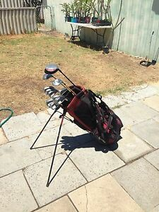 Golf clubs and taylormade bag Nollamara Stirling Area Preview