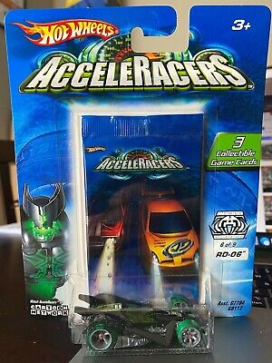 2005 Hot Wheels Cartoon Network Acceleracers RD-06 ERROR RARE!