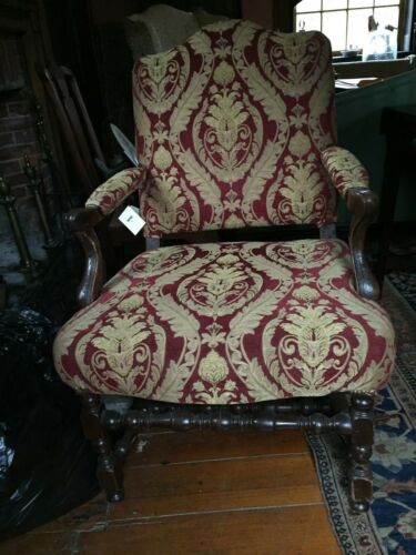 Antique Extremely Rare Flemish 17th Century Armchair c.1660-1680 pristine cond.