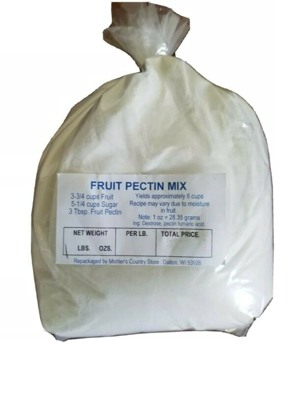 Fruit Pectin Mix Canning Jelly Jam Jellies Preserves Thickener 2 lb Bulk