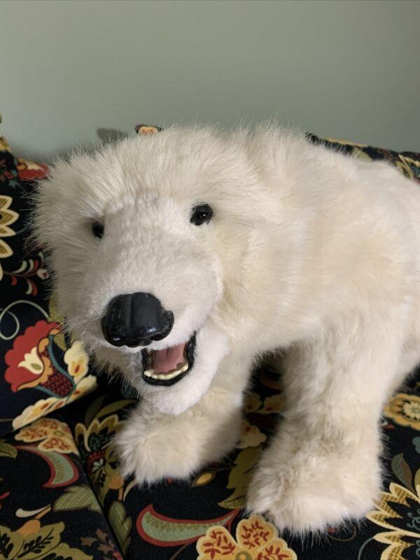"1994 Beaver Valley POLAR Bear IVAN 30""  Kayla Nilan 7/50 Signed Jointed Lifelike"