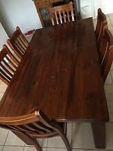 Dining table and chairs Glenmore Park Penrith Area Preview