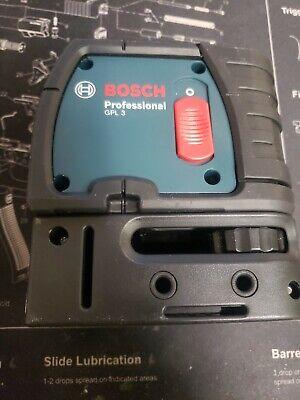 New Bosch GPL 3 3-Point Laser