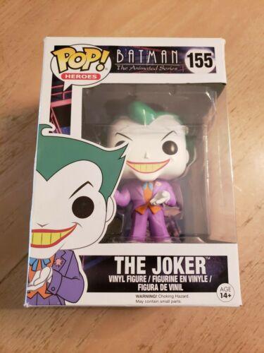 Funko Batman The Animated Series Joker Pop Heroes Figure