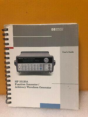 Hpagilent 33120-90005 33120a Function Generatorwaveform Generator Users Guide
