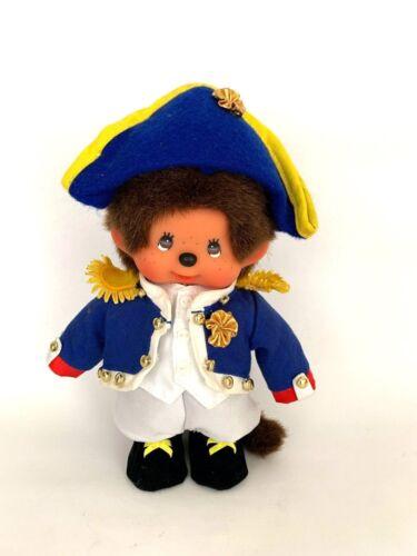 "SEKIGUCHI Monchhichi Plush Stuffed Doll Boy 8"" Military, Royalty"