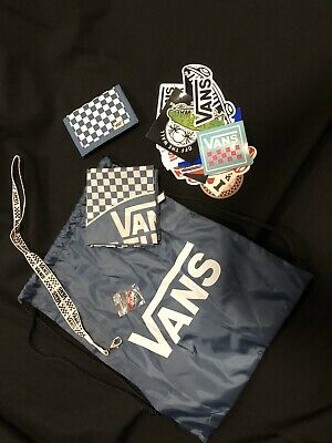Vans Bag 1966 With Accessories And Skateboard Stickers