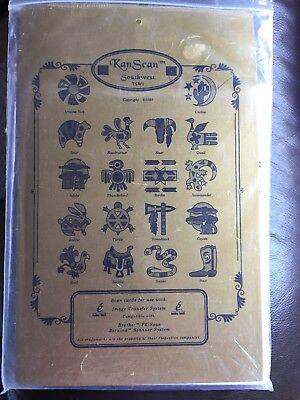 Kan Scan Image Transfer Cards Brother & Bernina Noah's Ark & Southwest  LOT OF 2