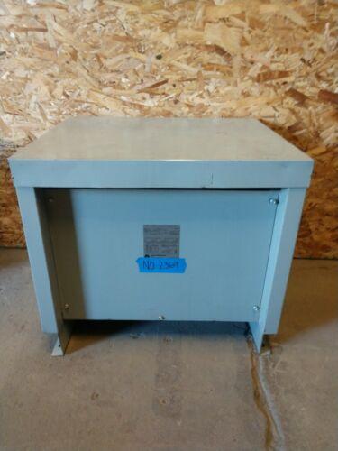 Acme 30kva Transformer 3 Phase 480v-208v/120v Delta Wye 460v 440v 220v 2369