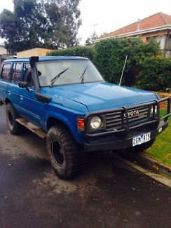 60 series Landcruiser for sale or swap Strathmore Moonee Valley Preview