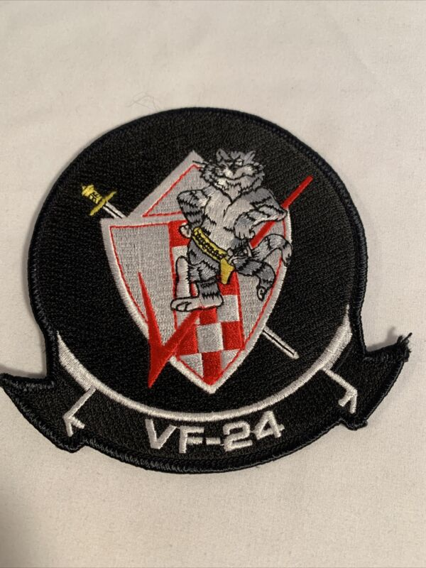 US Navy VF-24 Fighting Renegades F-14 Command Patch