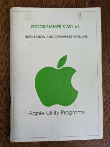 Vintage 1978 Apple Computer Programmer