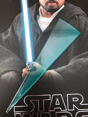 Hot Toys MMS507 Star Wars Last Jedi Crait Luke Skywalker Blue Lightsaber Effect
