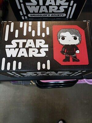 Funko POP Star Wars Smuggler Bounty Box, Sealed, #222 Duel On Mustafar, NIB.