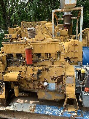 Caterpillar 3406b Industrial Engine 3033 Hrs