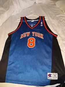 Latrell Sprewell NBA Jersey. Champion size 52 Derrimut Brimbank Area Preview