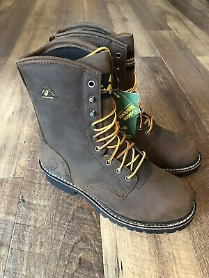 NEW Golden Retriever Leather Footwear Boots Dry Dawgs Waterproof Size 10 9205/W (Gold Leather Footwear)