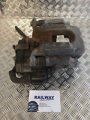 OEM BMW 2010 5 SERIES F11 REAR LEFT BRAKE CALIPER & CALIPER CARRIER ELECTRIC ...