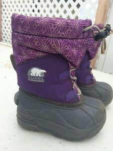 Toddler girl Sorel boots size 7