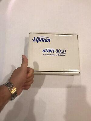 Lipman Nurit 8000 Wireless Palmtop Solution Credit Card Machine Verifone New