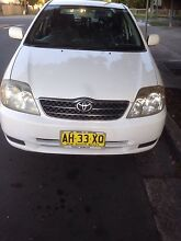 Toyota Corolla SECA Ascent reduced for quick sale only $5400 Regents Park Auburn Area Preview