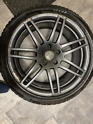 Set Of 4 21 inch Genuine Audi Q7 Alloy wheels With Tyres