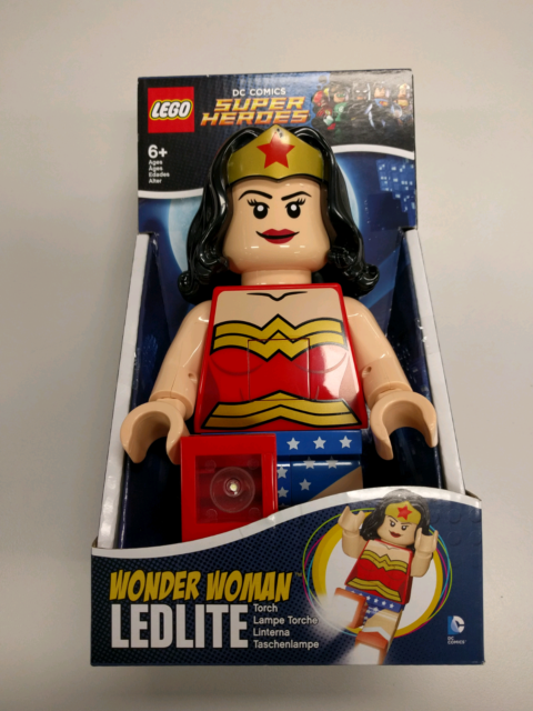 Lego Wonder Woman Dc Comics Led Torch Toys Indoor Gumtree