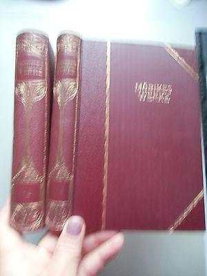 2 Bd. Mörikes Werke in vier Teilen von August Leffson Mörike