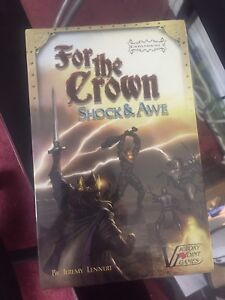 For the Crown: Shock and Awe board game expansion