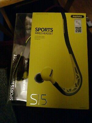 Best Stereo Sound Sport Neckband Headset Hook Earphones Headphones Sweat