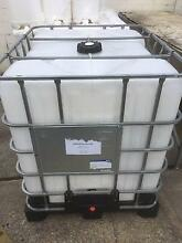 IBC 1000 Litre Used once for Rice Oil. Food Grade with Tap 1650kg Carrara Gold Coast City Preview
