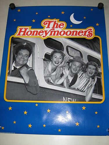 "Honeymooners - Bus - #6049 / Orig. vintage poster - Excellent+ new cond./ 22x28"""