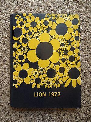 Vintage 1972 Red Lion Area Senior High School Yearbook