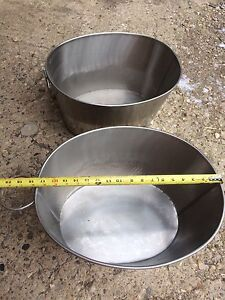 Stainless Steel tubs for sale! Strathcona County Edmonton Area image 3