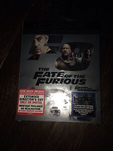 4K Fate of the Furious Band new sealed