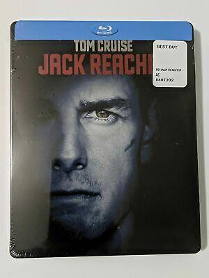 Jack Reacher SteelBook, Best Buy Exclusive (Blu-ray) Sealed BRAND (Best Jack Reacher Novel)