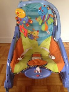 Fisher-Price Newborn-To-Toddler Rocker, Animal Fun