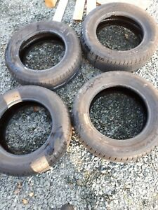 4 used tires $80