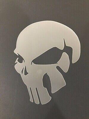 Skull #15 Stencil 10mm or 7mm Thick, skulls, halloween, Crafts, - Halloween Skull Stencils