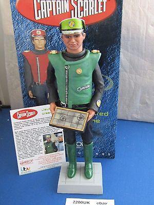 ROBERT HARROP  lieutenant green  from CAPTAIN SCARLET range csf07  MIB