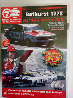 Bathurst motorsport dvd 1978