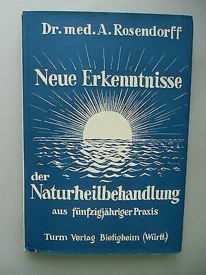 2 Bücher Neue Erkenntnis Naturbehandlung Pfarrer Harzenmoser's Gesundheitsbuch