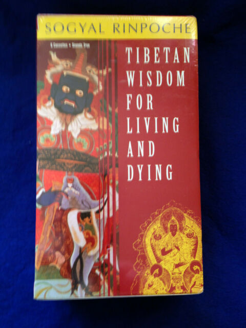 Tibetan Wisdom for Living and Dying Boxed Cassettes BRAND NEW