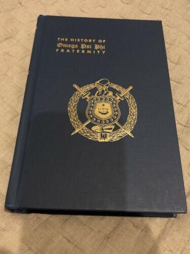 History of Omega Psi Phi Fraternity, Herman Dreer 1940 Near Mint