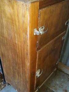 antique  ice box  fridge Smithfield Plains Playford Area Preview
