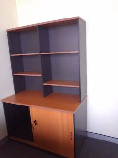 Like new, high quality office cabinets, desk and book shelves Macquarie Park Ryde Area Preview