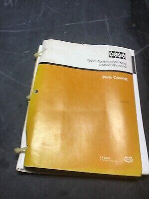 Case 780d Construction King Loader Backhoe Parts Catalog Manual