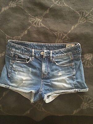 G-Star Raw 3301 Damen Jeans Denim Shorts Kurzhose Gr. 25 gebraucht kaufen  Deutschland