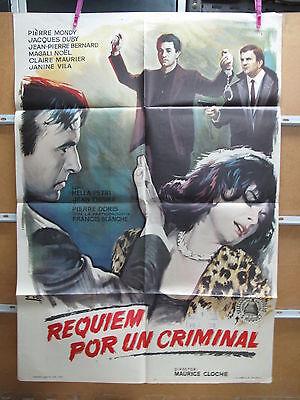 A3473 Requiem por un criminal Pierre Mondy, Jacques Duby, Jean-Pierre Bernard, M